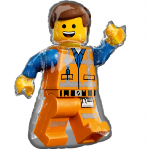 Lego Movie 2 Large Foil Balloon | Free Delivery Available